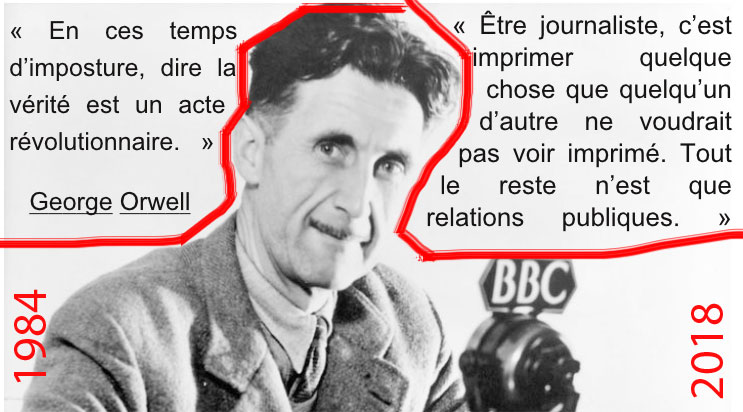 Citations Georges Orwell